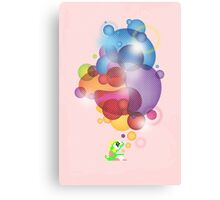 Bubbled Canvas Print