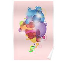 Bubbled Poster