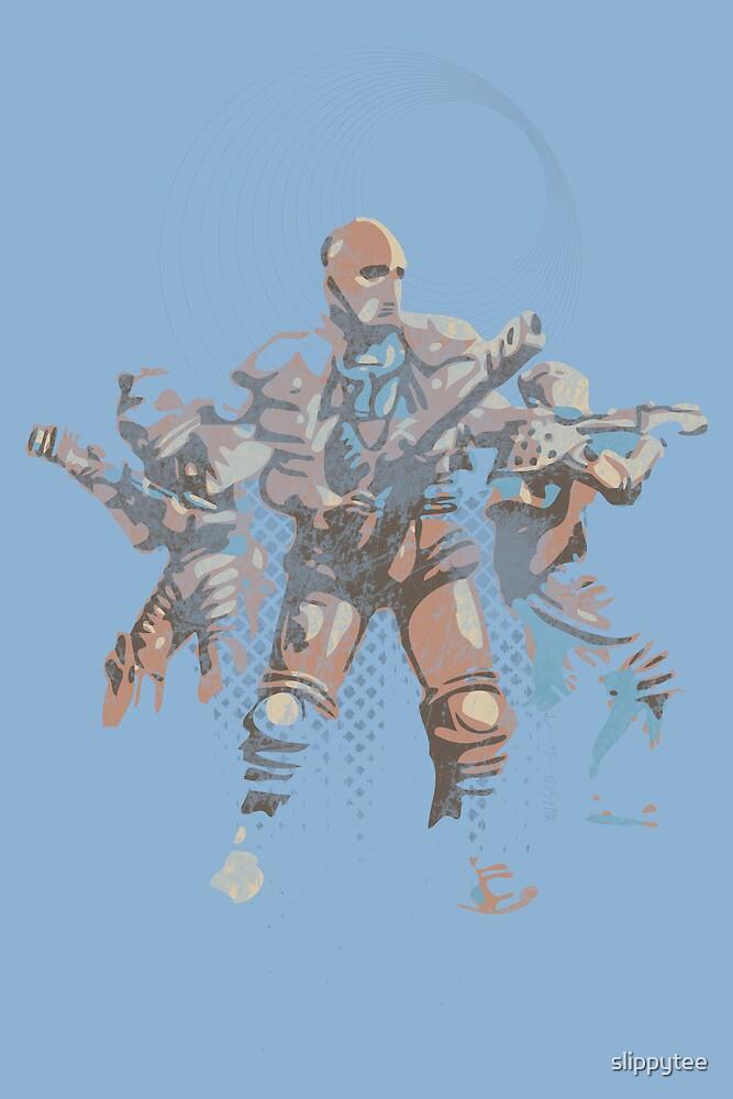 Laser Squad by slippytee