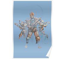 Laser Squad Poster