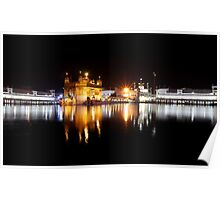 Indian Golden Temple Poster