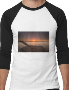End of the day - Sunset in Nicaragua Men's Baseball ¾ T-Shirt