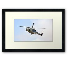 Southport Air Show Westland Lynx Framed Print