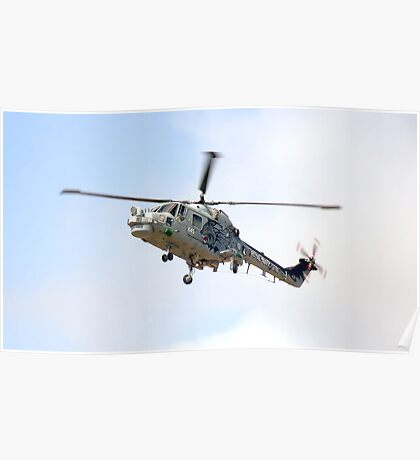 Southport Air Show Westland Lynx Poster