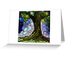 Gifted tree Greeting Card