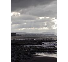 Stormy seas make for skilled sailors.  Photographic Print