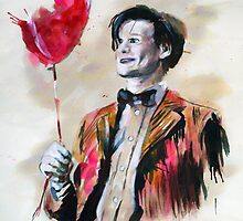 The Doctor and his red balloon. by arteclair