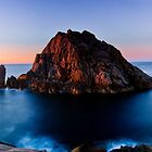 Velvet Sunset - Sugarloaf Rock by Tyson Battersby
