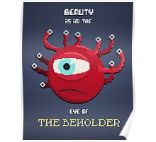 Beauty of the Beholder Poster
