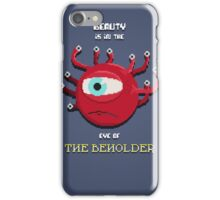 Beauty of the Beholder iPhone Case/Skin