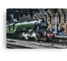 4472 Flying Scotsman Canvas Print