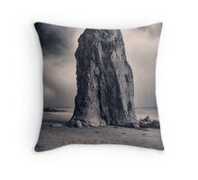 Rialto Beach Sea Stack Throw Pillow