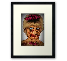 The Original Nancy Boy Framed Print