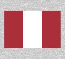 Peru Flag by cadellin