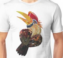 Red knobbed hornbird Unisex T-Shirt