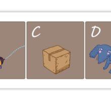 Schrödinger's kids book Sticker
