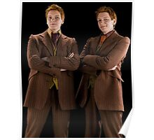 Fred and George Weasley Poster