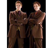 Fred and George Weasley Photographic Print