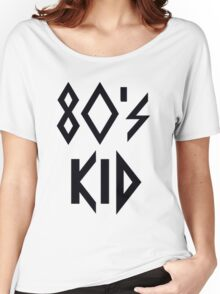 80's Kid Women's Relaxed Fit T-Shirt