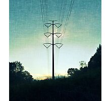 Electric Photographic Print