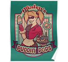 Harley's Puddin' Pops - print Poster