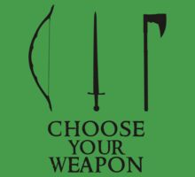 Lord of the Rings: Choose Your Weapon by Frazer Varney