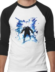 Pixel Thing Men's Baseball ¾ T-Shirt
