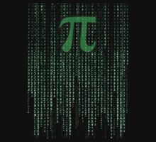 Pi in the Matrix by jezkemp