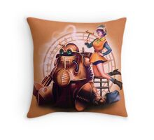 Lucca & Robo - PRINT Throw Pillow