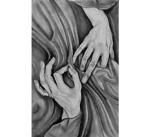 stitch in time . . . . hand portrait Photographic Print