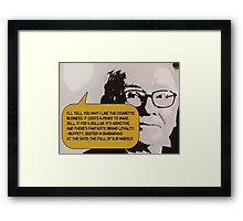 Warren Buffett(C2013) Framed Print