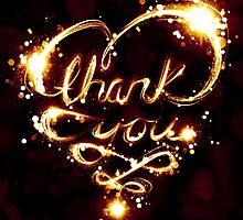 bokeh thank you by maydaze