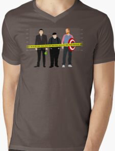 Murder, He Wrote Mens V-Neck T-Shirt