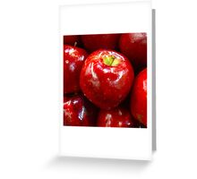 Red Fruit 3 Greeting Card