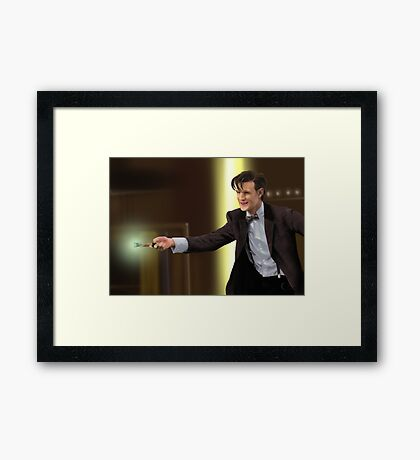 The 11th Doctor Who Framed Print
