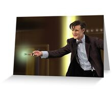The 11th Doctor Who Greeting Card