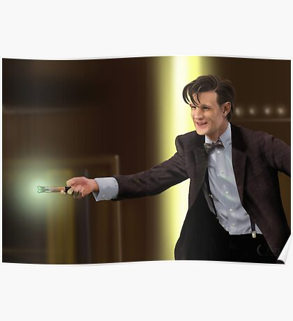 The 11th Doctor Who Poster
