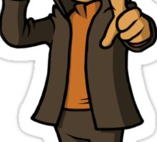 Professor Layton – Super Smash Bros. Sticker