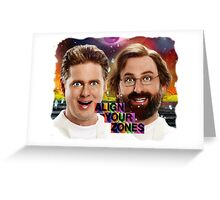 Tim And Eric- Zone Theory Greeting Card