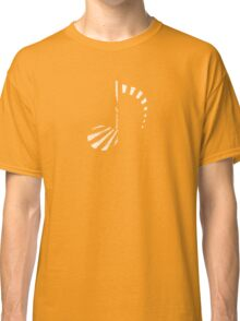 Music Note (striped) Classic T-Shirt