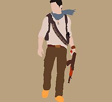 Minimalistic Nathan Drake by felurian