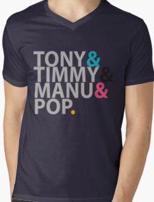 Spurs  Mens V-Neck T-Shirt
