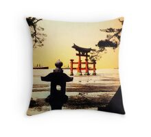 Vintage Tori Gate Throw Pillow