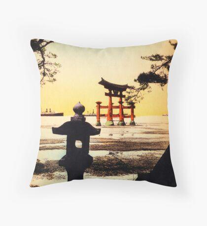 Vintage Tori Gate Throw Pillow