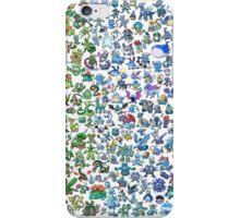 pokemon characters iPhone Case/Skin