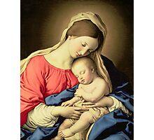 Madonna and Child Photographic Print