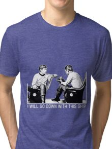 Blue Shirts Tri-blend T-Shirt