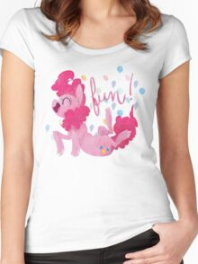 FUN! Women's Fitted Scoop T-Shirt