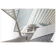 Calatrava in Liege Poster