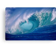 Powerful Hawaiian North Shore Wave Canvas Print